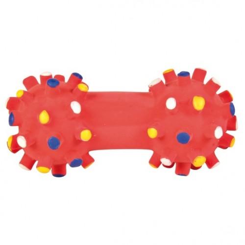 """Игрушка из латекса """"TRIXIE"""" для собаки """"Гантель"""", 10 см"""