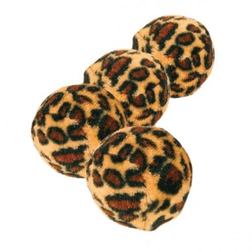 """Игрушка """"TRIXIE"""" для кошки, """"Мячики"""" диам. 4см,(4 шт) леопардовые"""