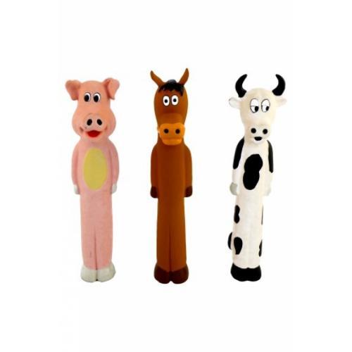 """Игрушка для собак """"Длинноножка"""", латекс, 29 см"""