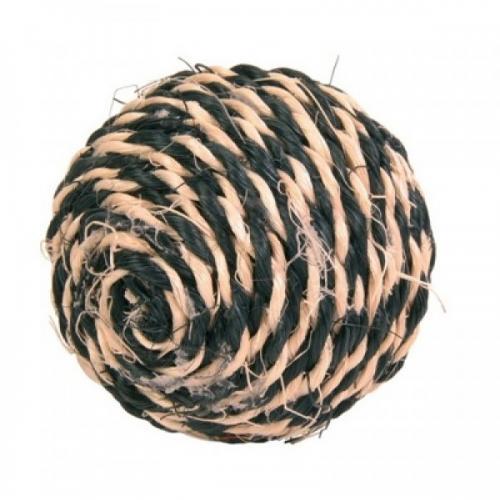 """Игрушка """"TRIXIE"""" для кошки сизалевая в виде мячика с кошачей мятой 6см"""