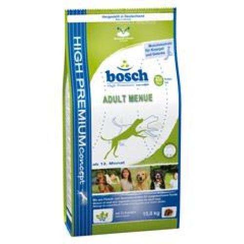 Bosch Adult Menu(Бош Эдалт Меню), для собак со средним или повышенным уровнем активности - 15 кг.