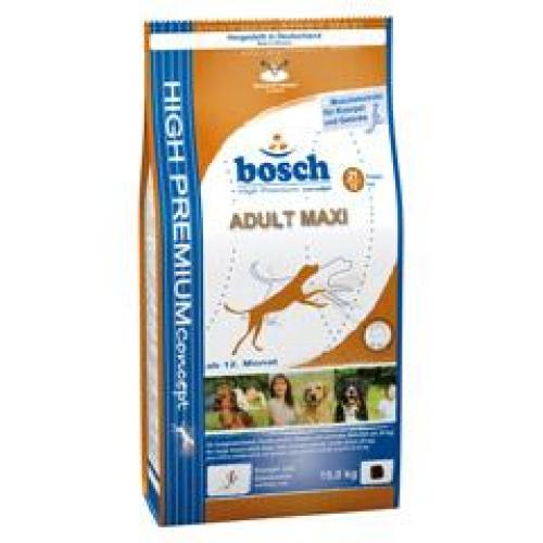Bosch Adult Maxi(Бош Эдалт Макси), для взрослых собак крупных пород - 15 кг.