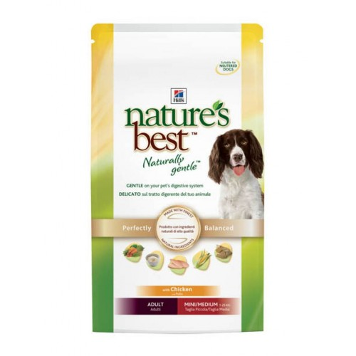 Hills Nature's Best Canine Adult with Chiken (Курица, овощи), для взрослых собак мелких и средних пород