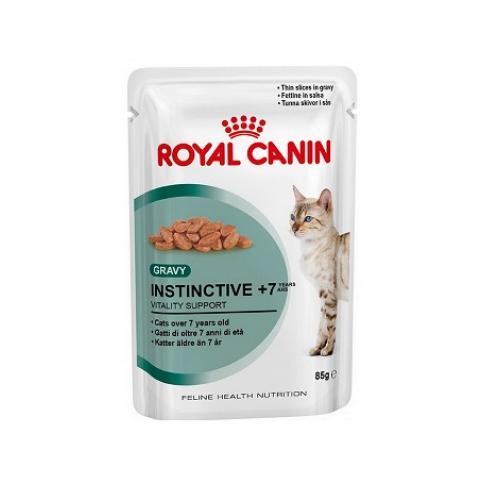 Royal Canin Instinctive +7 (в соусе), для котов старше 7 лет — 85 гр.