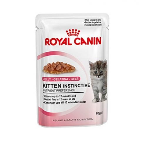 Royal Canin Kitten Instinctive (в желе), для котят с 4 до 12 месяцев — 85 гр.