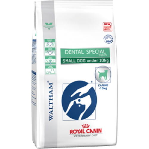 Royal Canin Dental Special DSD25 Small Dog, для поддержания здоровья зубов собак мелких пород - 2 кг.