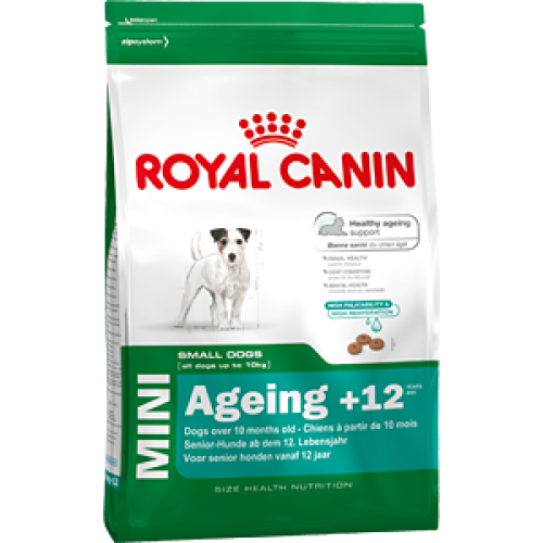 Royal Canin Mini Ageing +12, для собак мелких пород старше 12 лет - 1,5 кг.