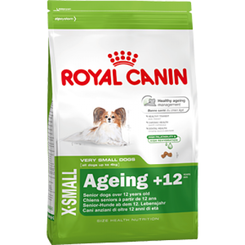 Royal Canin X-Small Ageing +12, для собак мелких пород старше 12 лет до 4-х кг - 0,5 кг.