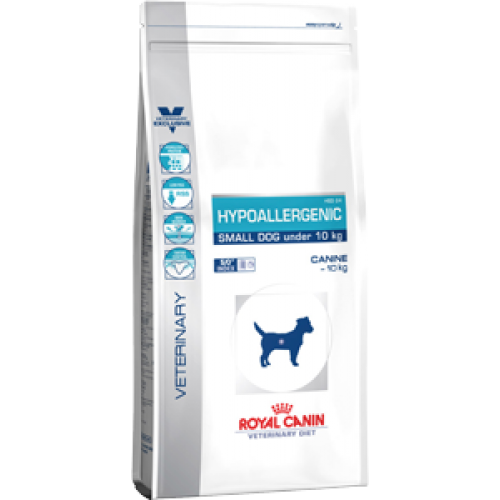 Royal Canin Hypoallergenic Small Dog, диета для собак мелких пород с пищевой аллергией - 3,5 кг.