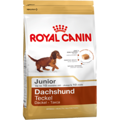 Royal Canin Dachshund Junior, для такс до10 мес. - 1,5 кг.