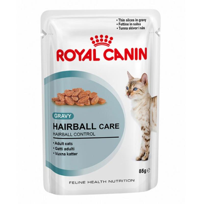 Корм royal canin hairball пауч