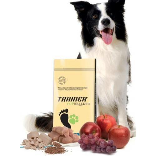 Trainer Top Breeder POWER TOP HORSE (Индейка,Конина), для взрослых собак всех пород, с интенсивной физической нагрузкой - 18 кг.