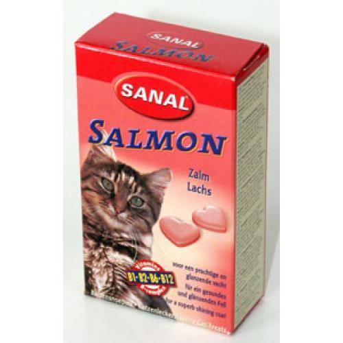 Санал для кошек лосось, 85 таблеток