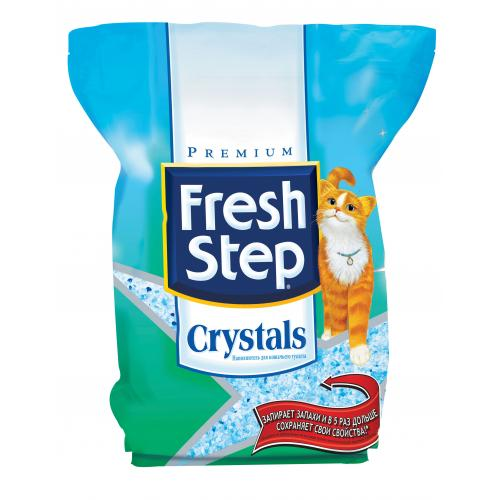 Fresh Step, силикагелевый наполнитель - 1,81 кг.