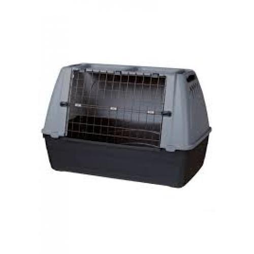 "Переноска ""TRIXIE"" Journey L для мелких животных 100х65х60см,черная/серая"
