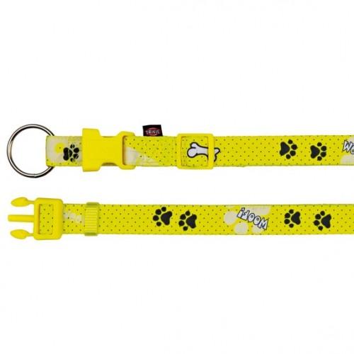 "Ошейник ""TRIXIE"" для собак ""Modern Art Collar Woof "", (ХS-S) 22-35 см/15мм"