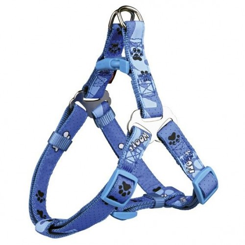"Шлея ""TRIXIE"" для собак""Modern Art Harness Woof"", (ХXS-XS) 25-35 см/10мм"