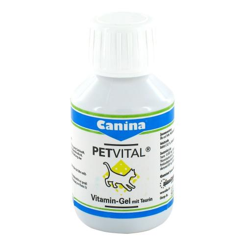 Canina Petvital Vitamin-Gel mit Taurin, витаминный гель
